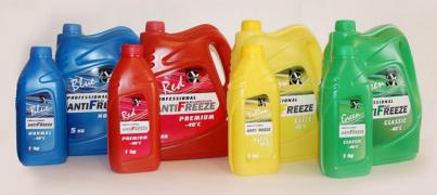 Antifreeze in bulk. NGOs Khim-Sintez