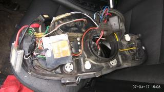 Audi A4 B7 тюнинг фары Sonar