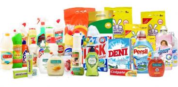 Buy cosmetics, household chemicals short time