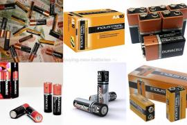 Buy new Duracell batteries, Energizer, Duracell Industrial