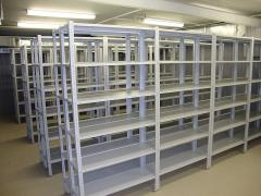 Commercial and shelving racks