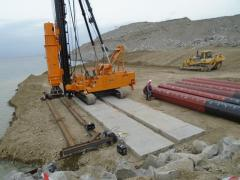 Drilling and piling Machine NIPPON SHARYO DHP-80, AND DHJ-40