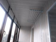 Finishing, insulation of the balcony. Krasnoyarsk