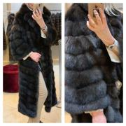 Fur coat from Barguzin sable