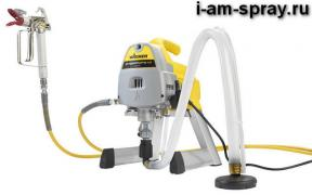 German spray guns Wagner choose professional painting