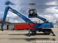 Loader the TEREX - FUCHS MHL 350 from Europe