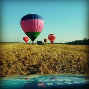 Make a gift to loved ones! Ballooning, aircraft