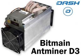 Miner D3 at 19.3 GH/s 115 Tr. directly, without intermediaries with China for