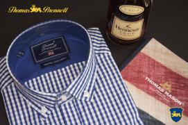 Мужские рубашки и галстуки Th. Brennett Италия оптом и в розницу