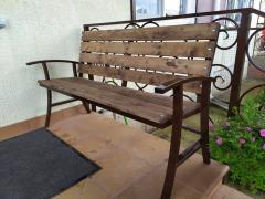 Навесы, лестницы, мебель (изготовление и монтаж)