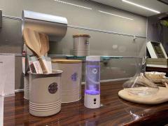 Портативный ионизатор для насыщения воды ионами водорода