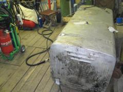 Repair of fuel tanks. Repair fuel tanks