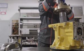 Repair of hydraulic Pumps and hydraulic Motors + Test bench