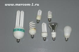 The disposal of fluorescent, energy saving lamps and other