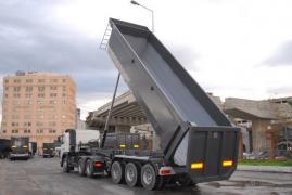Tipper semi-trailer 30-33ì3 Kardesler Trailer Alim