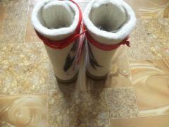 Women's boots from merino