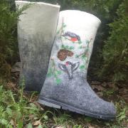Women's boots winter fairy tale